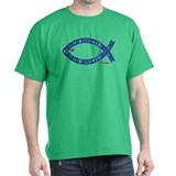Futhark Fish Black T-Shirt