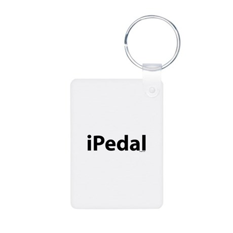 iPedal Aluminum Photo Keychain