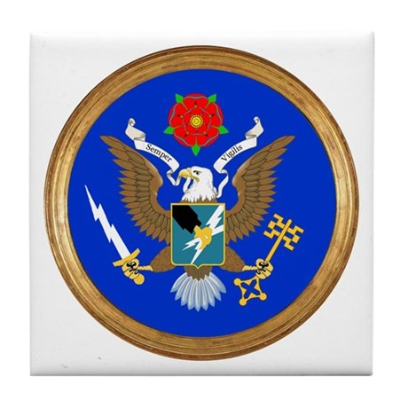 The Great Army SIGINT Seal Tile Coaster