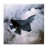 F35 Joint Strike Fighter Tile Coaster