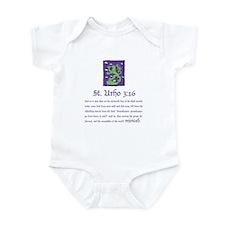 St. Urho 3:16 Infant Bodysuit