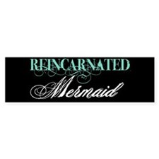 Funny Mermaid Bumper Sticker