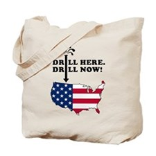 Drill NOW! Tote Bag