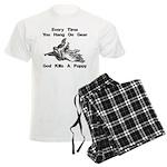 Don't Hangdog! Men's Light Pajamas