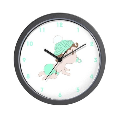 Sweet Little Baby (Neutral) Wall Clock