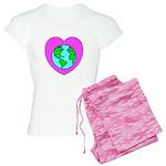 Love Our Planet Women's Light Pajamas