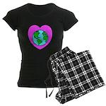 Love Our Planet Women's Dark Pajamas