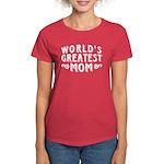 World's Greatest Mom Women's Dark T-Shirt