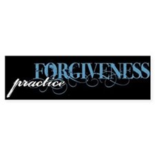 Forgiveness Bumper Bumper Sticker