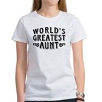 World's Greatest Aunt Women's T-Shirt