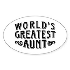 World's Greatest Aunt Decal