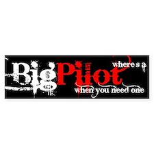 Big Pilot Bumper Bumper Sticker