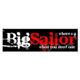 Big Sailor Bumper Bumper Sticker