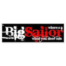 Big Sailor Bumper Bumper Sticker