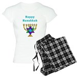 Happy Hanukkah Women's Light Pajamas
