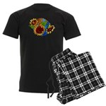 Sunflower Planet Men's Dark Pajamas