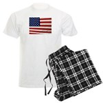 USA Flag Men's Light Pajamas