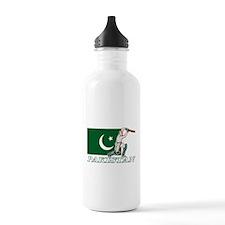 Pakistan Cricket Player Water Bottle