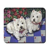 WESTIE SUMMER BREEZE Mousepad