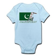 Pakistan Cricket Player Infant Bodysuit