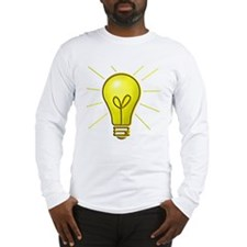 Light Bulb Long Sleeve T-Shirt