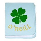 Irish O'Neill baby blanket