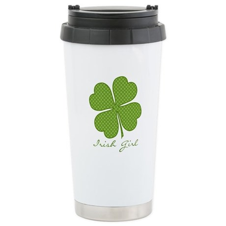 Irish Girl Ceramic Travel Mug