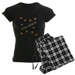 Chocolate Cookie Gift Women's Dark Pajamas