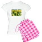 Sunflower Cluster Women's Light Pajamas
