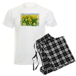 Sunflower Cluster Men's Light Pajamas