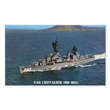 USS CHEVALIER Decal