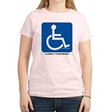 Clearly Retarded Women's Pink T-Shirt