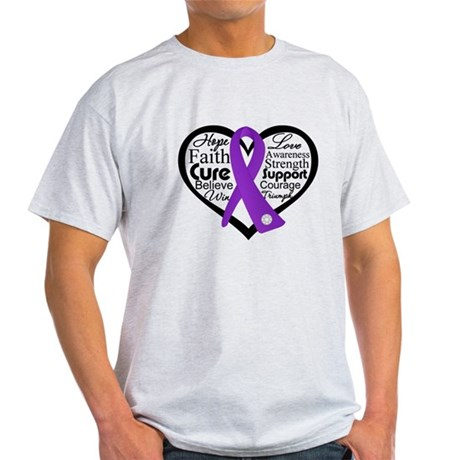 Heart Leiomysarcoma Light T-Shirt