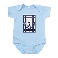 Blue North Infant Creeper
