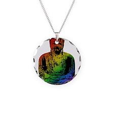 Rainbow Buddha Necklace