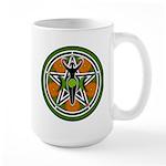 Green Goddess Pentacle Large Mug