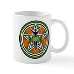 Green Goddess Pentacle Mug