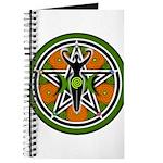 Green Goddess Pentacle Journal