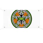 Green Goddess Pentacle Banner