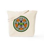 Green Goddess Pentacle Tote Bag