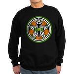 Green Goddess Pentacle Sweatshirt (dark)