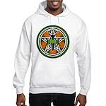Green Goddess Pentacle Hooded Sweatshirt