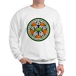 Green Goddess Pentacle Sweatshirt