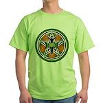 Green Goddess Pentacle Green T-Shirt