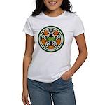 Green Goddess Pentacle Women's T-Shirt