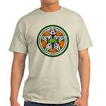 Green Goddess Pentacle Light T-Shirt