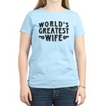World's Greatest Wife Women's Light T-Shirt