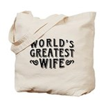 World's Greatest Wife Tote Bag