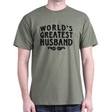 World's Greatest Husband T-Shirt