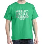 World's Greatest Husband Dark T-Shirt